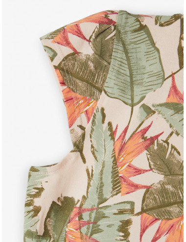 NMFFIBLOOM CAP SL DRESS