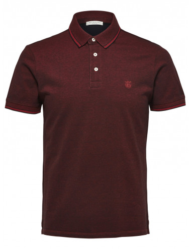 SLHTWIST SS POLO W NOOS