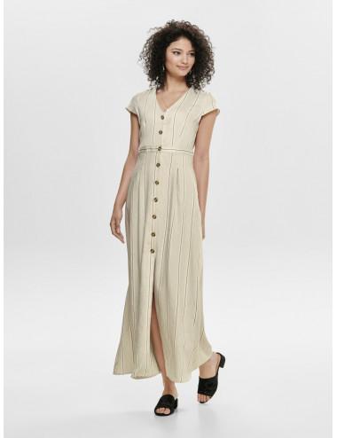 ONQNAOMI S/S MAXI DRESS WVN