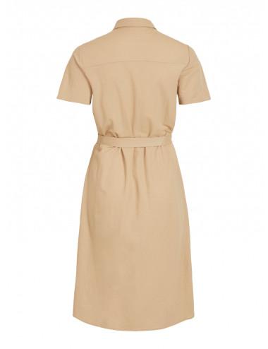 VISAFINA S/S SHIRT DRESS - NOOS