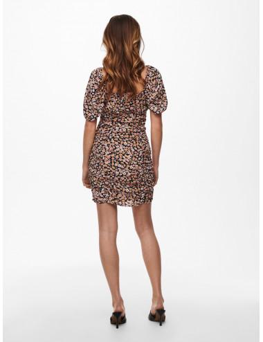 ONLFUCHSIA S/S SHORT  DRESS WVN