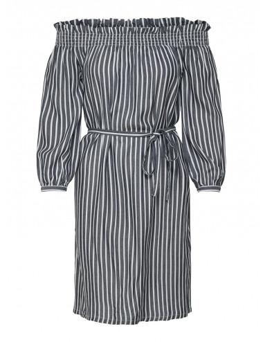 ONLSAMANTHA STRIPE 3/4 OFF SH DNM DRESS