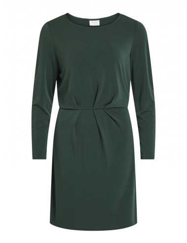 VICLASSY L/S DETAIL DRESS - NOOS