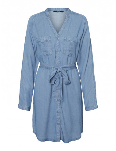 VMSAFFI LS SHORT DRESS GA