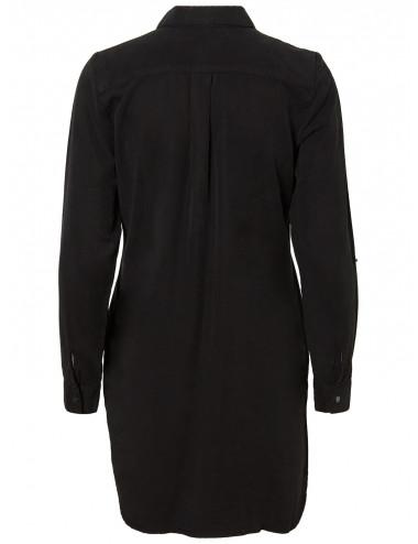 VMSILLA LS SHORT DRESS BLCK GA NOOS