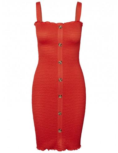 NMLEA S/L SMOCK DRESS 4H