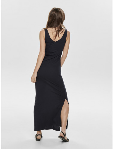 ONLJULY S/L LONG V-NECK DRESS NOOS