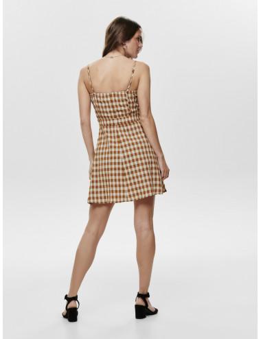 ONLMAYA STRAP SHORT DRESS WVN