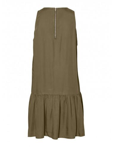 NMEMILIA S/L ENDI PEPLUM DRESS BG