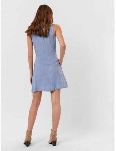 VMVIVIANA SL SHORT DRESS GA NOOS