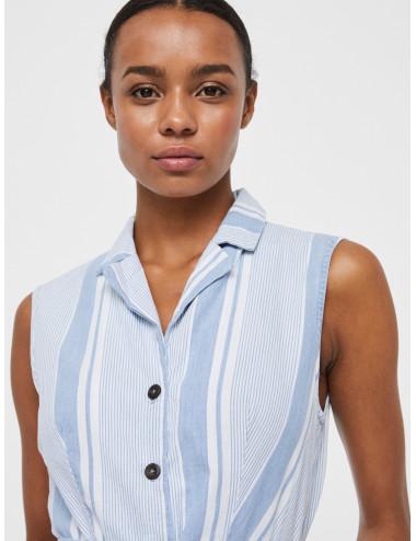 VMAKELASANDY SL CHAMBRAY SHORT DRESS GA